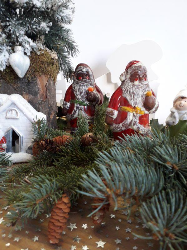 Père Noël à la pipe